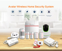 Smarthome Best Quality CE Certification Support wireless 433 mhz home alarm rohs