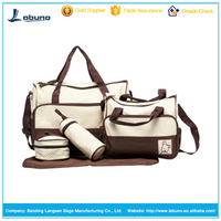 Hot selling cheap diaper baby bag Mom bag best women bag