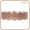 latest body leather belt laser engraved belt for women