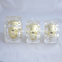 15g cosmetic Square Acrylic Jar