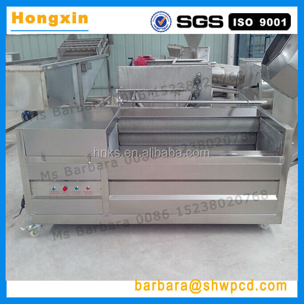 Sale industrial stainless steel potato cleaning and peeling machine carrot peeling machine