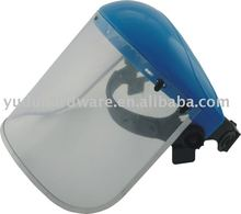 transparent PVC or PC clear visor face shield