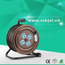 220V small 4 multi-sockets metal 220V cable reel