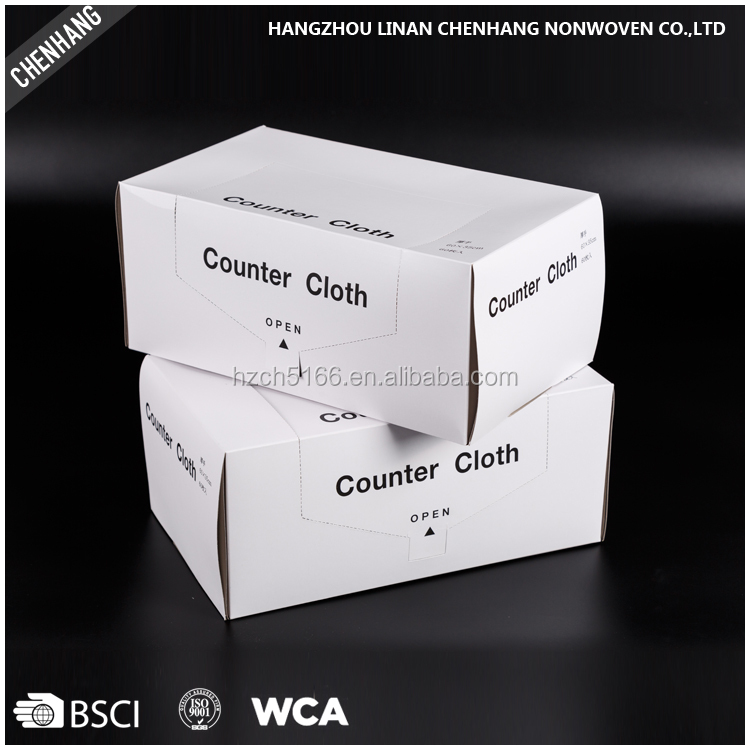Household Multi-purpose Spunalce Dry Cleaning Nonwoven Cloths Manufacturing