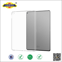 transparent clear tpu case for ipad pro ,soft gel back cover case