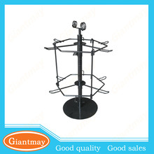 counter top rotating keychain hanging wire rack display