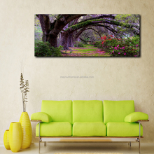 coast live oaks contemporary art canvas painting