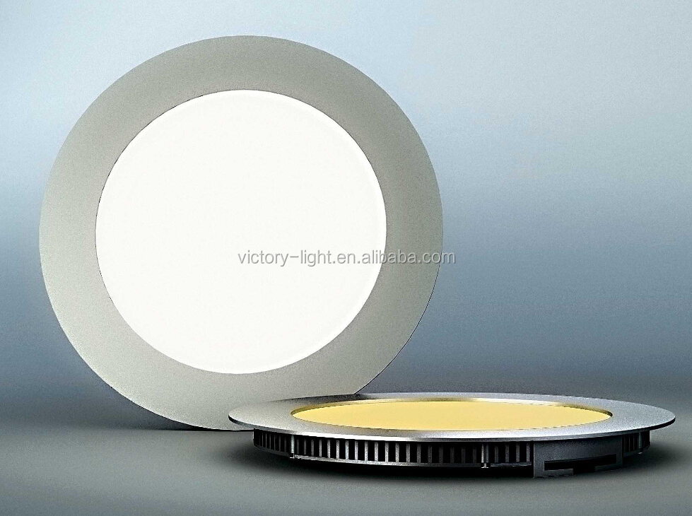 Ultra thin LED ceiling recessed slim 15w 18w 24w round led panel light