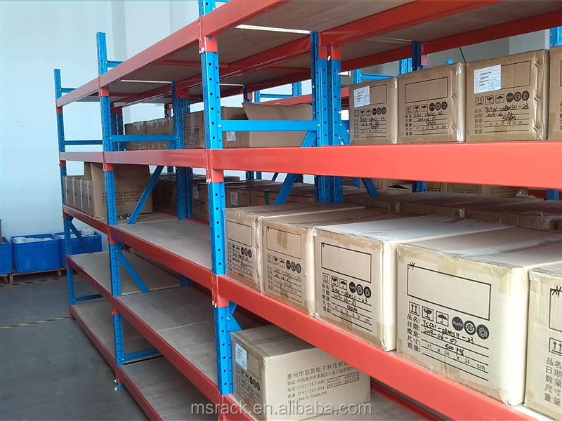 Direct factory boltless medium warehouse steel coil racks as manufacturer
