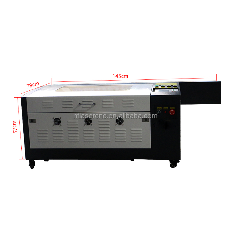 HT-460 laser cutting engraving machine/cutting machine coconut shell