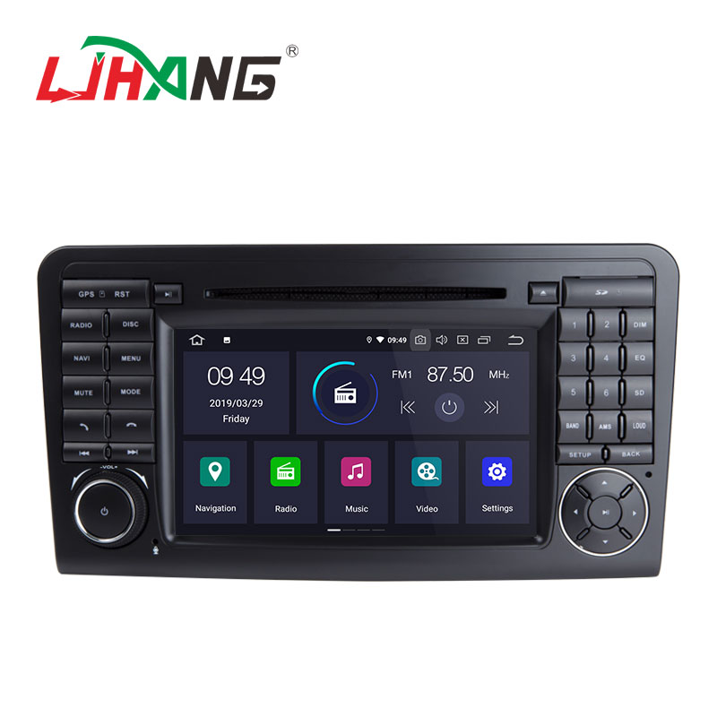 Chinese android 9.0 2+16g quad core car stereo <strong>dvd</strong> player for mercedes benz ml320/ml350/<strong>w164</strong>/glx164/gl320