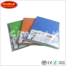 A4 eva foam, 2mm foamy sheets,en goma eva for craft and hobby, factory plastic sheets