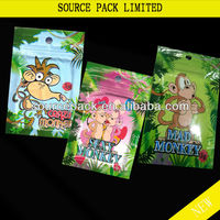 All Kinds of Monkey Herbal Incense Bag/herbal-incense-bag with ziplock