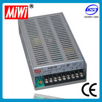 12v power supply single output LED Switching Power Supply S-201 (12v 24v 36v 48v) constant voltage led driver