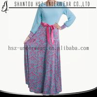 MD10027 Lady dress muslim fashion elegant clothes for women plus size long sleeve Islamic abaya wholesale coast dresses