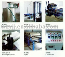 embroidery backing paper machine
