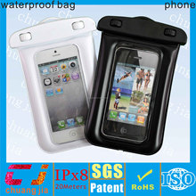 2017 outdoor diving waterproof cell phone bag for HUAWEI P10 with armband