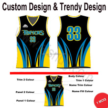 Personalizar <span class=keywords><strong>baloncesto</strong></span> jersey uniformes <span class=keywords><strong>de</strong></span> diseño con 1 unids MOQ