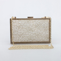 2016 fashion handbag colorful acrylic transparent clutches, famous brand evening clutch bags