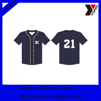 Wholesale custom cheap baseball jersey, high quality short sleeves baseball jersey from china supplier
