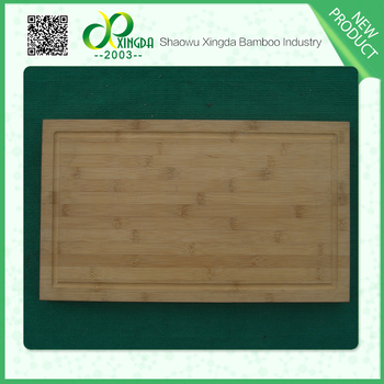 Professional design bamboo silicone chopping board