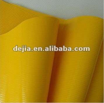 PVC laminated tarpaulin plastic fabrication for industrial fabric products