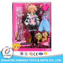 Hot sale fashion lovely girl vinyl unique toys lucky doll for wholesale