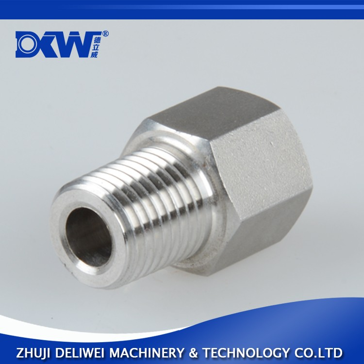 G Thread Female to NPT Thread Male Pipe Fitting Adapter 304SS