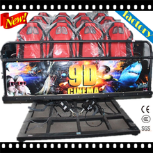 Newest Mobile 6DOF Hydraulic Platform 5D Cinema 5D Theater 5D Movie 5D Chair 5D Seat