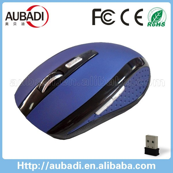 1200 DPI 2.4ghz wireless mouse with micro-receiver