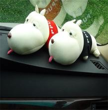N252 plush bamboo charcoal dog shape toy air freshen for car