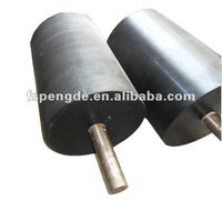 polyurethane rubber conveyor roller for paper/laminating machine