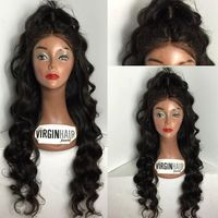 2016 factory price virgin human hair lace front used lace wigs for sale