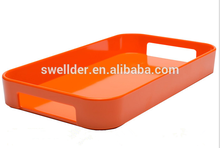 Factory Custom Hot Sale Round Cute Acrylic Plastic Tray