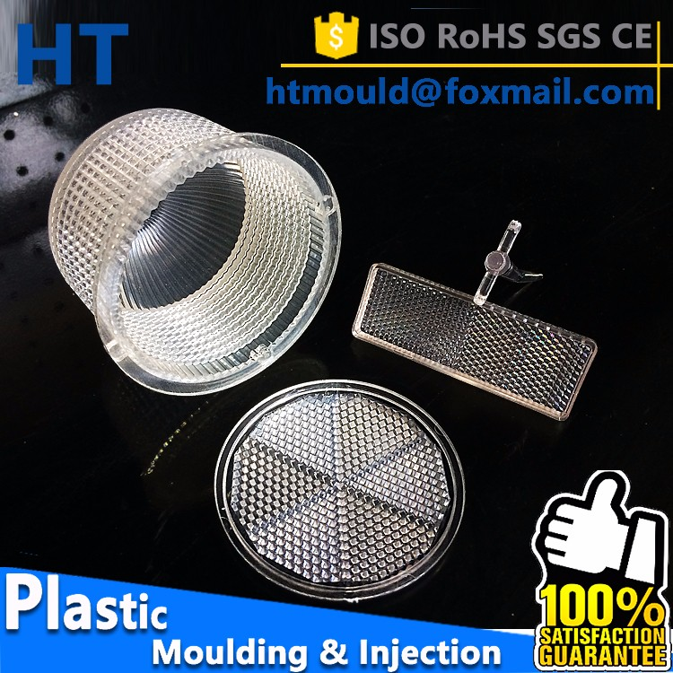 Motorcycle reflector injection plastic parts, custom plastic injection mold, plastic injection molding guangzhou