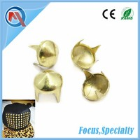 Cone Shaped Metal Garment Studs For Hat Accessorices
