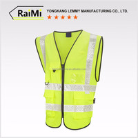 Breathable Security Protection Fire Safety Vests
