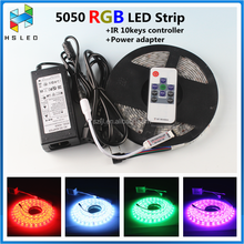 Mulit Color RGB SMD 5050 Flexible LED Strip Light 5M Tape Roll 300 Leds