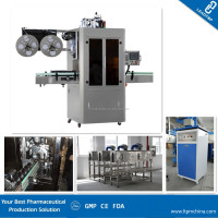 Beverage Bottle Shrink Sleeve Labeling Machine Shrink Wrapping Machine