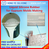 RTV-2 Liquid Silicone Rubber for GRC/GFRC/GRG/FRP Molds Making