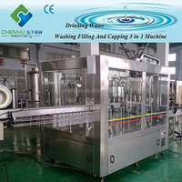 Automatic olive oil bottling machine