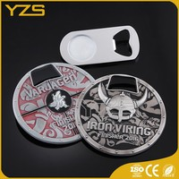factory custom metal chrome plated bottle opener