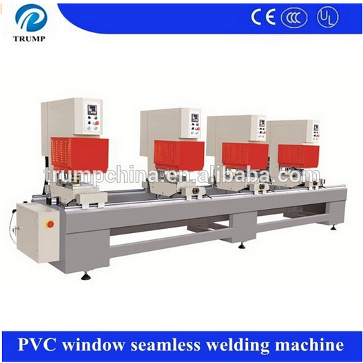 Four head pvc Windows Welding Machine 2 head seamless welding machine for pvc door window frame