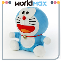 Different Size Promotional Gift Plush Happy Doraemon Cartoon Kid Girls Toys