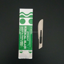 Medical disposable stainless/carbon steel surgical blade