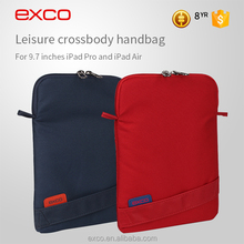 For canton fair EXCO polyester name brand mens small sling bag laptop tablet case for iPad pro 9.7''