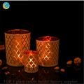 Exported to Korea glass candle holder jars