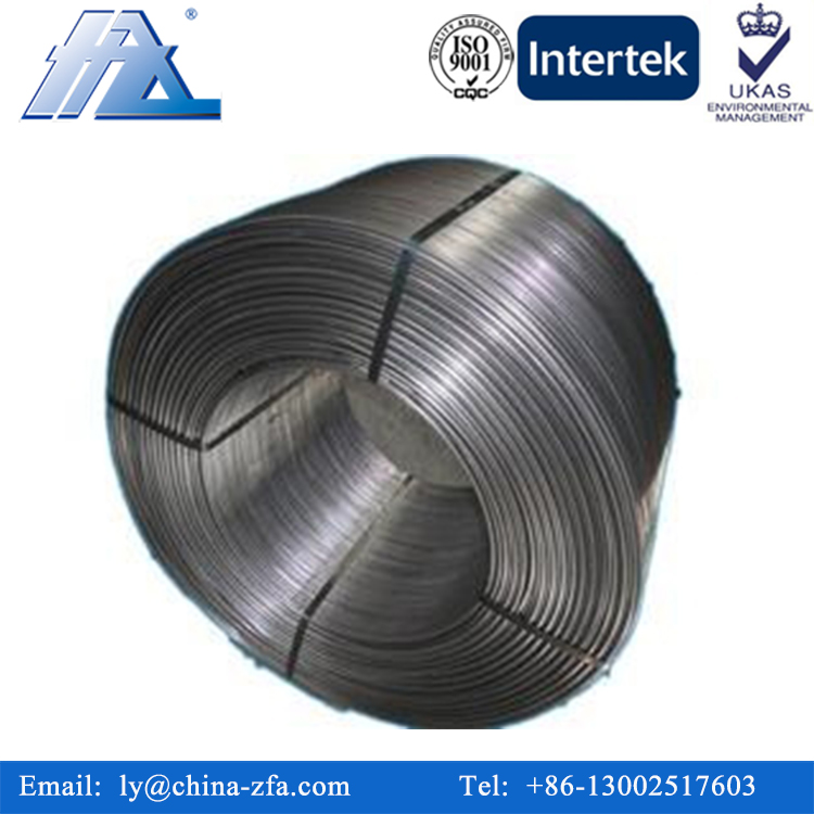 Factory Wholesale Calcium Silicon Cored Wire Foundry,Casi Cored Wire Best Exporter,Alloy Wire