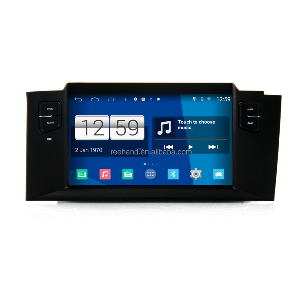 S160 1din Android 4.4.4 Car GPS Navigation System for Citroen C4 2011 3G WIFI Bluetooth OBD2 Mirror-Link Steering Wheel Control
