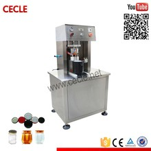 jar vacuum sealer, semi automatic vacuum glass jar capping machine
